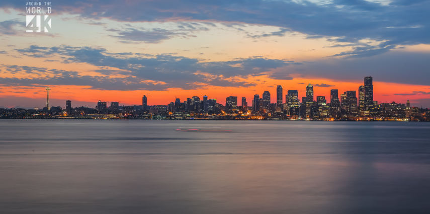 Seattle – the second stop in our trip Around the World 4k